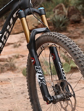 Riding FOX's Prototype RAD 34 Fork
