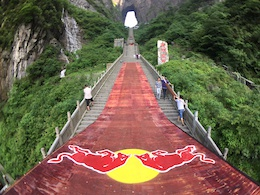 Video: Course Preview - Red Bull Sky Gate Mountain Race, China