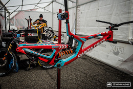 Custom DH Bikes and Gear - World Champs 2015
