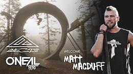 Azonic and O'Neal Welcomes Matt Macduff