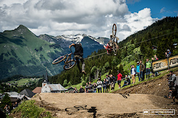 Dual Speed and Style, and Women's Dual Slalom, Crankworx Les Gets 2016 - Video