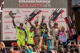 Les Gets Mud Bath Makes History in Crankworx Les Gets Downhill presented by iXS