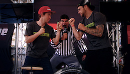 Zink vs Clementz: Birzman Tire Changing Contest Winner Revealed - Video