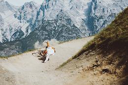 Downhilling on a Granny Bike - The Crash Reel