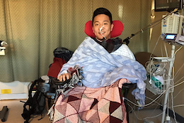 Injury Causes Rider and GT Marketing Manager Andrew Cho to be Paralyzed