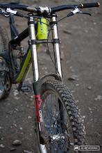 Marzocchi 380 C2R2 Titanium Fork – First Ride