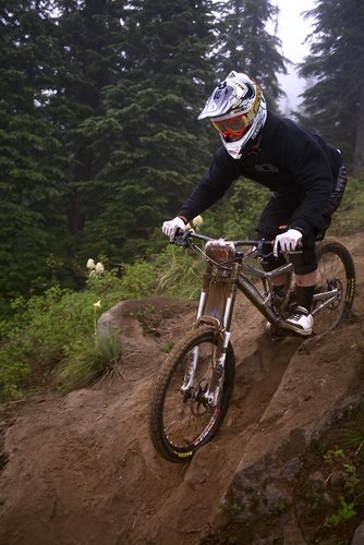 Maxxis Pro Cameron Cole of New Zealand