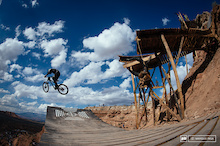 Mountain Bikers Help Save Original Red Bull Rampage Site