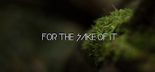 Video: For the Sake of It
