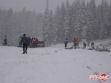 Snow in Arizona Race Doesn't Slow Down the b Team…