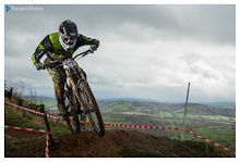 Wet in Welsh Wales: Borderline Events Uk DH Round1, Caersws.