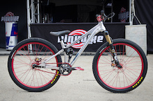 Prototype Morpheus Slopestyle Bike - Sea Otter 2014