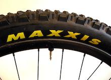 Prototype Maxxis Downhill Tire