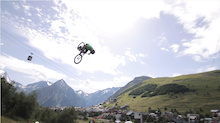 Video: Huge Front Flip Crash from Crankworx L2A