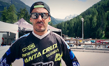 Video: Cedric Gracia In La Thuile, Italy