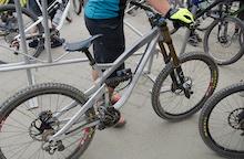 Spotted: Prototype Yeti Downhill Bike