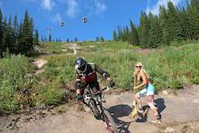 Kicking Horse Bike Park Trail Crew Update 4 2014