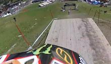 Helmet Cam: Steve Peat and Josh Bryceland at Meribel