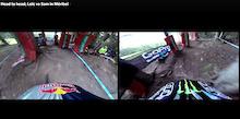 Video: Head to Head WC Runs Compared - Loic Bruni VS Sam Hill