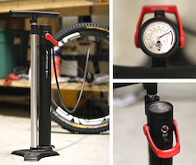 Bontrager's TLR Flash Charger Floor Pump - Review