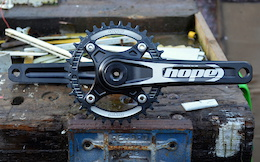 First Look - Hope Technology Cranks