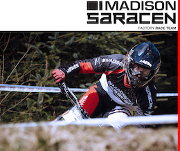 Madison Saracen Factory Team: 2015 British Downhill Series - Round Two, Fort William