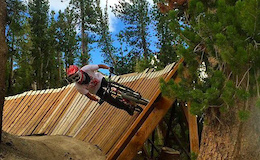 Mammoth Bike Park Opens Off the Top