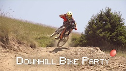 Video: Downhill Bike Party
