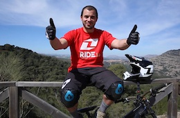Drifting in Spain with Emyr Davies - Video