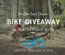 Cow Trail Classic Kids Bike Giveaway