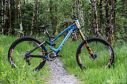 Laurie Greenland's Mondraker Summum - Fort William DH World Cup 2016