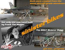 Sinister Bikes Military Offer