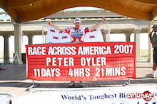 Canadian Endurance Cyclist, Peter Oyler, Becomes 2nd Canadian Ever to Complete the Race Across America
