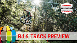 Five Stages, One Day: EWS Rd 6 Track Preview, Whistler, Canada - Video