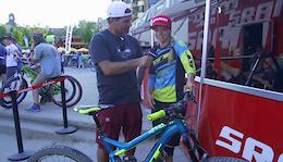 30 Secondish Bike Checks Round Three: Crankworx Whistler 2016 - Video