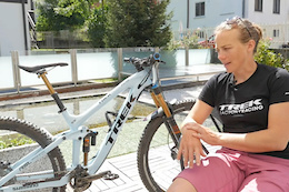 Tracy Moseley's Trek Slash Bike Check - Trans-Rezia 2016