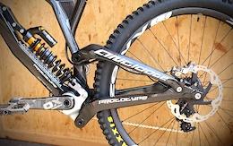Antidote's Exotic Darkmatter Carbon DH Bike - Eurobike 2016