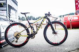 Nino Schurter's Scott Spark 900 Bike Check - Vallnord XC World Cup 2016