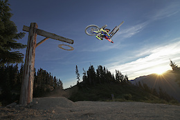 Zink, Wallace, Goldstone and Finestone Shred Whistler Bike Park - Video