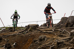 iXS European Downhill Cup: Round Six, Leogang, Track Preview - Video