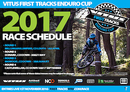 2017 Vitus First Tracks Enduro Cup Entries Now Open