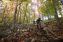 Last Bromont Rip Before The Snow - Video