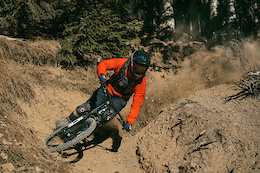 Kicking Up Dust in Champéry Bikepark - Video