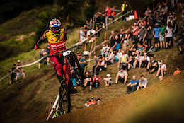 Rain and Champagne Showers for Polygon UR at Crankworx Rotorua