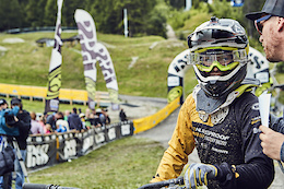 Full-On Rookie Downhill Action