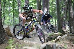 Weekend Warrior Ripping Highland Mountain Bike Park - Video