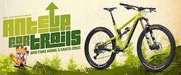 Last Chance: Donate to MBOSC and Win a Santa Cruz