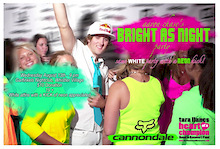 """Aaron Chase present's the """"Bright As Night"""" Crankworx party"""