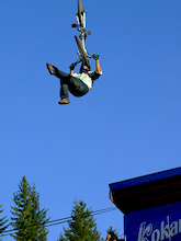 Groves and Watts take top spot in first ever VW trick showdown at Kokanee Crankworx 2008