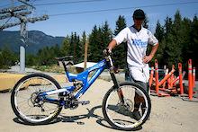 Chris Kovarik - Bike Check